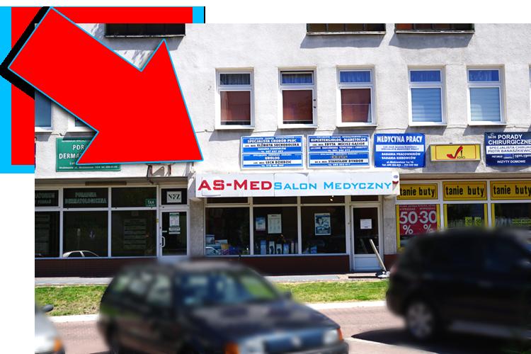 Sklep Medyczny Hrubieszów Lokalizacja